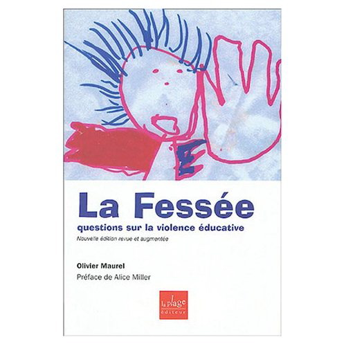 """Visuel du livre """"La fessée"""""""