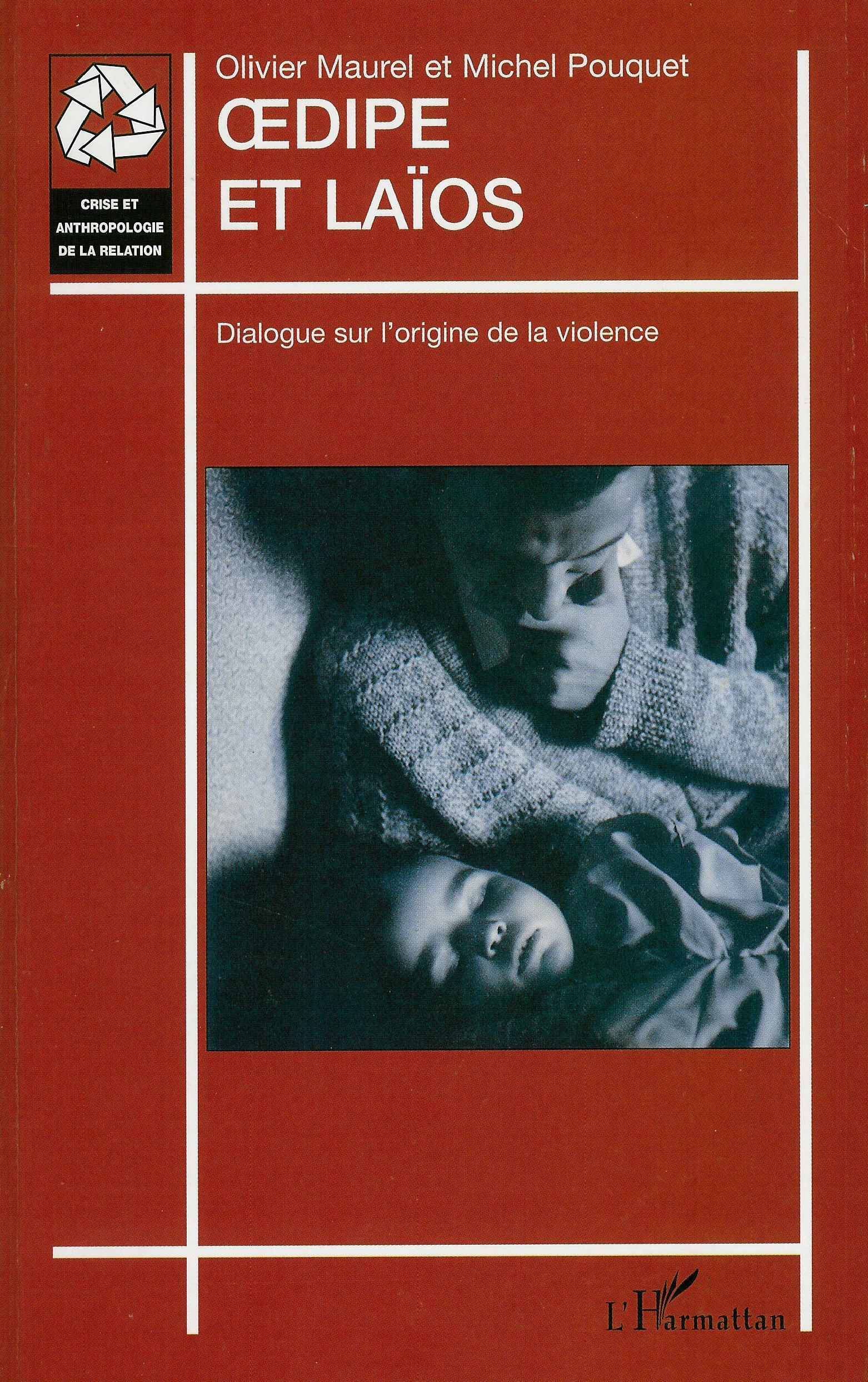 """Visuel du livre """"Oedipe et Laïos"""""""